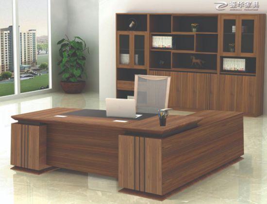 Wooden L Shaped Office Desks