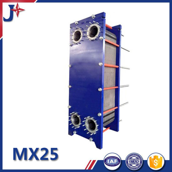 Jxmx25 SS304/SS316L/Titanium/Smo254/C276 NBR Gasket Plate Heat Exchanger for High Quality