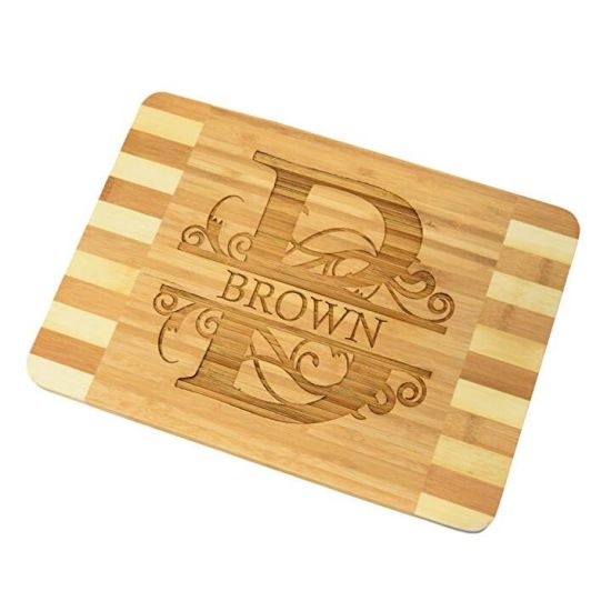 3ac89b4f6acfe Dual Color Personalized Custom Engraved Bamboo Wood Cheese Cutting Chopping  Board pictures   photos
