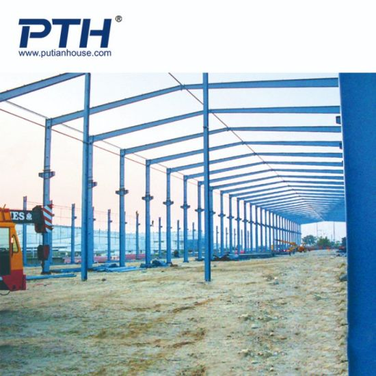 Pth High Quality Light Steel Prefabricated Warehouse pictures & photos