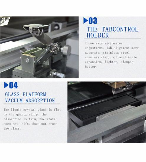 China Tab/Acf/FPC/PCB Hot Bar Pressing/Bonding Machine 618sh