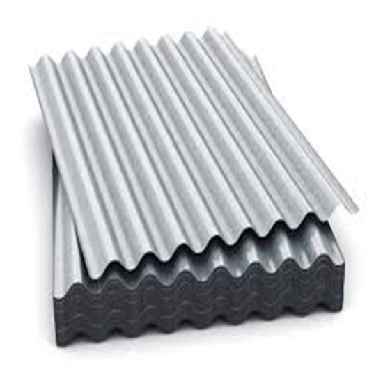 0.125mm-0.3mm Galvalume Corrugated Steel Roofing Sheet Building Material