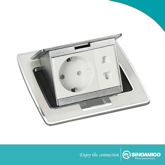 IP44 Waterproof Stainless Steel Floor Boxes