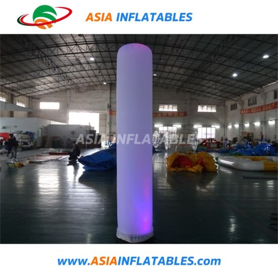 Indoor Decorative LED Inflatable Pillar Advertising Inflatable pictures & photos