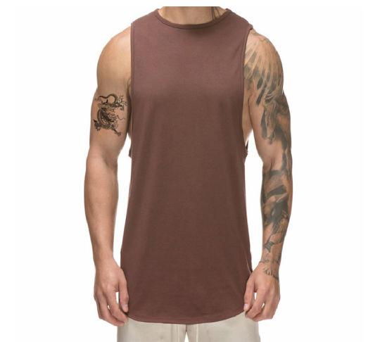 Adults Plain Sleeveless Summer Gym Wear Top Mens 100/% Cotton Training Vest