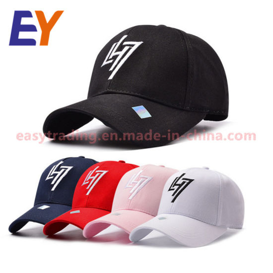 f550f49fc7fd9 2018 Men and Women Plain Caps OEM Logo Baseball Capes Cotton Embroidered Baseball  Cap