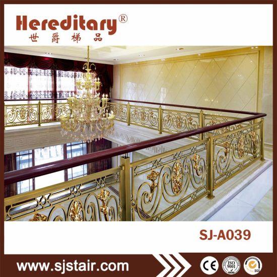 Interior Villas Decoration Balcony Steel Balustrade Stair Fence/Guardrail