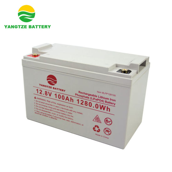 5 Years Warranty Deep Cycle 12V 100ah LiFePO4 Lithium Ion Battery with BMS pictures & photos