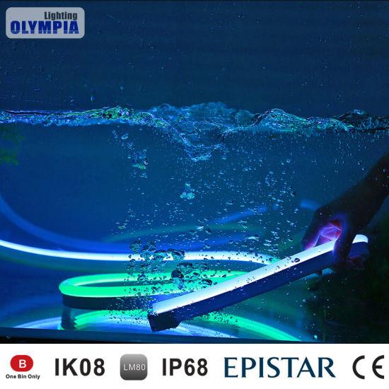 Dc24v Ip68 Waterproof Swimming Pool Led Flex Strip
