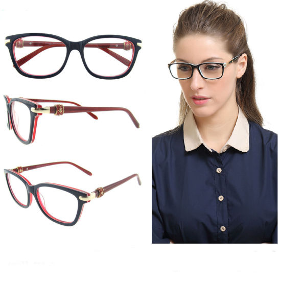 8417ef7d538 New Design Fashion Special Optical Acetate Frames for Women pictures    photos