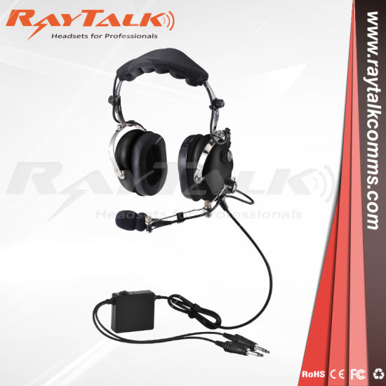 China Anr Adjustable Metal Boom General Aircraft Headset