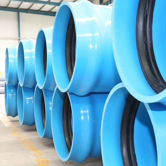 Blue Colored PVC - Uh Pipe 200mm for Drinking Water