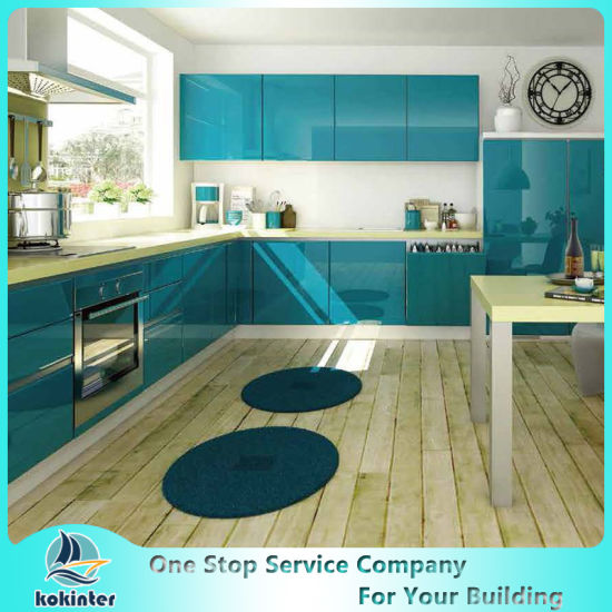 China Mdf Mfc Plywood Particle Board Modern Kitchen Cabinets Of Kok013 China Kitchen Cabinet Modular Cabinet