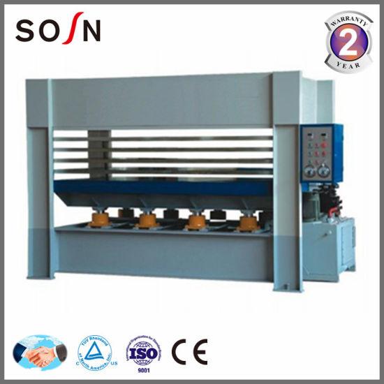 5 Layers Hydraulic Hot Press Machine for Board Making