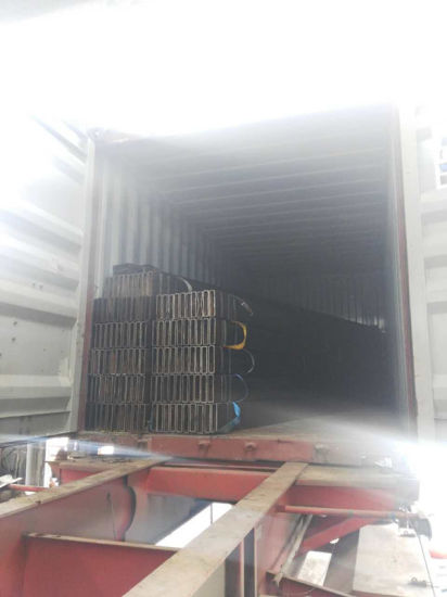 ASTM A500 Gr. B Steel Tube Size 200X50X8mm (rectangular hollow section) pictures & photos