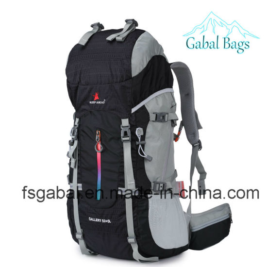 Waterproof Nylon Outdoor Knapsack Mountain Climbing Hiking Sports Travel Backpack