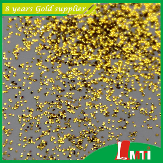 China Supplier Gold Glitter Powder for Making Gifts pictures & photos