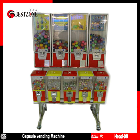 Toy Capsule Vending Machine or Candy Vending Machines (Head-9) pictures & photos