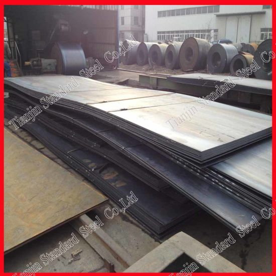 Structural Ms Carbon Steel Plate (A36 Q235 Q345 S275JR S235JR S355JR S355j2) pictures & photos