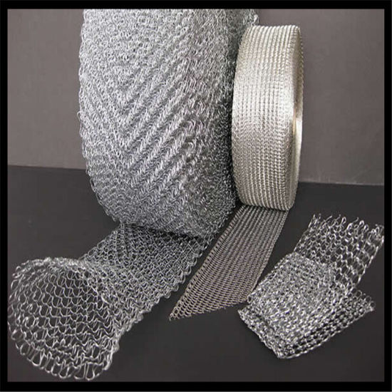 Stainless Steel Knitted Wire Mesh for Gas-Liquid Filtering