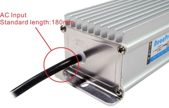 12V 100W Waterproof LED Power Supply for Signage with CE pictures & photos