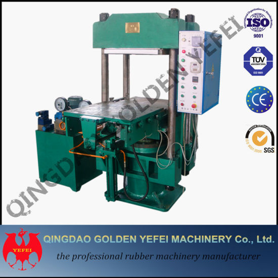 China Hot Sale Four Column Plate Rubber Vulcanizer Machine pictures & photos