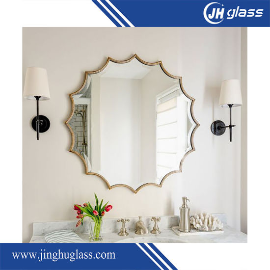 Frameless Oval Shape 4mm Bathroom Mirror pictures & photos