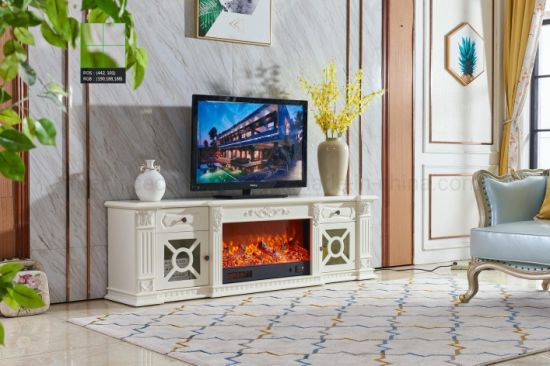 Guangdong Foshan Bedroom Fireplace Electric Fireplace Tv Stand