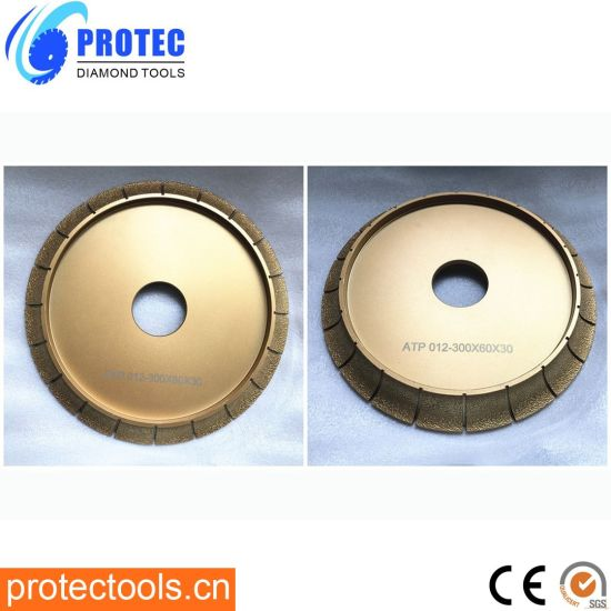 Vacuum Brazed Profile Wheel/Diamond Profile Wheel/Diamond Profile Grinding Wheel/Diamond Tools/Diamond Profile/Profile Wheels/Vacuum Brazed Tools/Grinding Wheel
