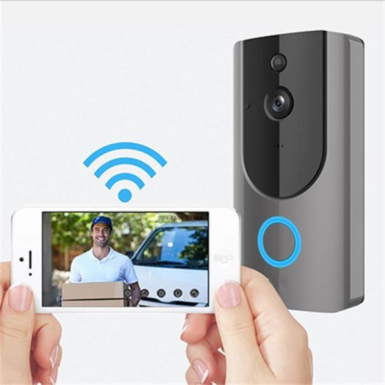 c2d93a8e361e9 China Wireless WiFi Doorbell Smart Video Phone Door Visual Ring ...