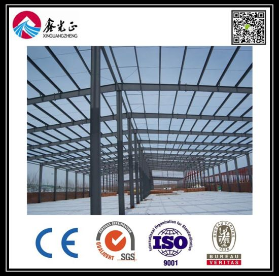 Light Prefabricated Structural Steel Warehouse with Low Cost pictures & photos