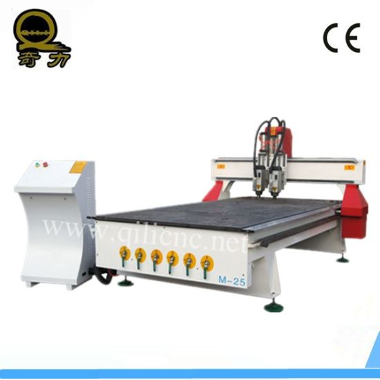 CNC Wood Engraving Cutting Machine for Sale/Jinan CNC Wood Machine pictures & photos