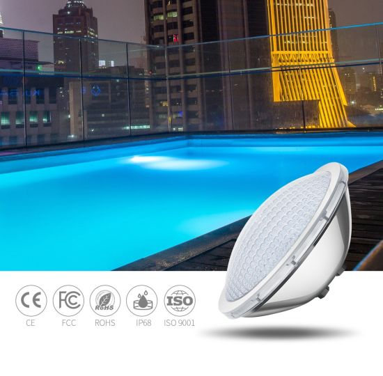300W Halogen PAR56 Replacement LED Pool Light PAR56 IP68 Underwater Lighting