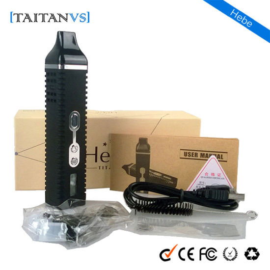 Taitanvs Hebe E Cigarette Starter Kit Dry Herb Vaporizer pictures & photos