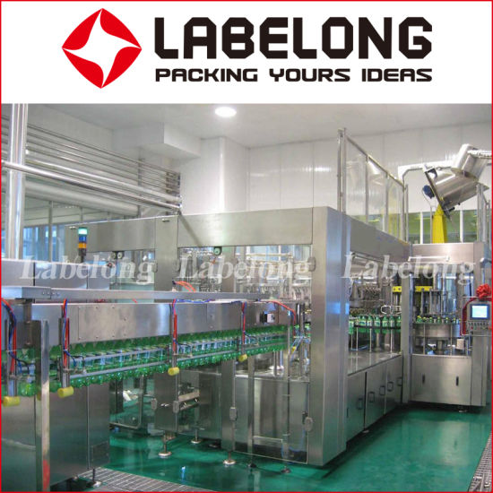 Automatic 5000bph Carbonated Drink/CSD/Beverage Pet Bottle Production Line 3 in 1 Washing Filling Capping /Bottling Machine pictures & photos