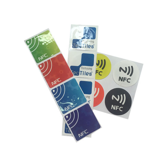 ISO14443A 13.56MHz Custom Passive RFID NFC Tag/Label pictures & photos