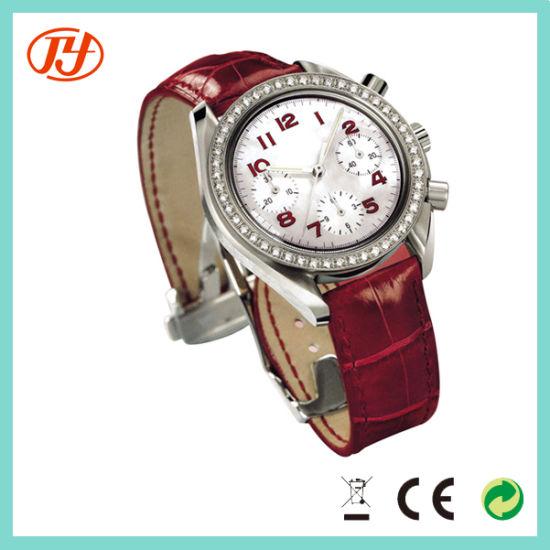 66f1134ff Custom Luxury Stainless Steel Case Back Watch Stone Fancy Multi Function Hand  Girl Watch. Get Latest Price