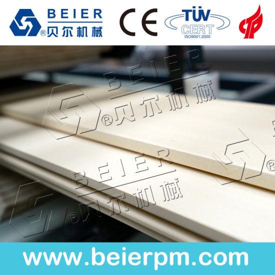 PVC WPC Wood Plastic Profile Extrusion Machine/Wall Panel Production Line