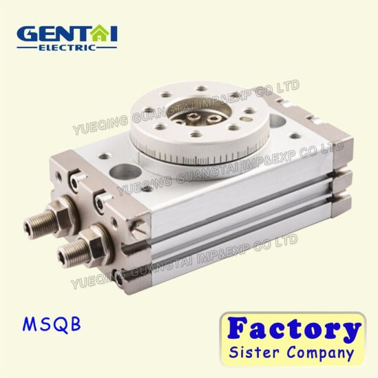 Msqb Air Compressed Rotary Double-Acting Cylinder