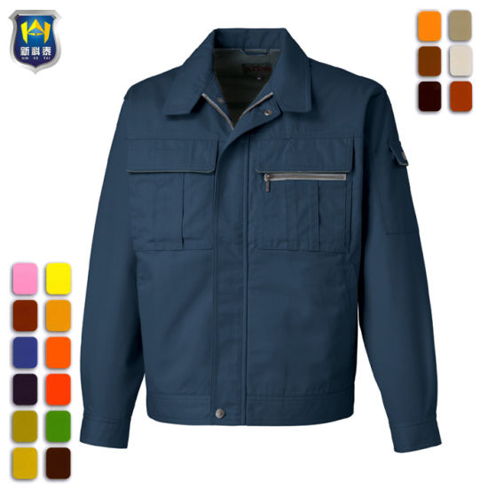 High Quality Manufacturer Cotton Fabric Work Jacket