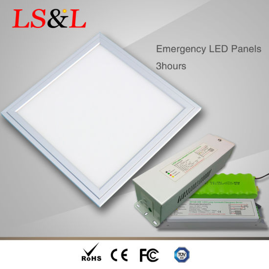 IP65 Waterproof Emergency LED Panel Light with UL Driver