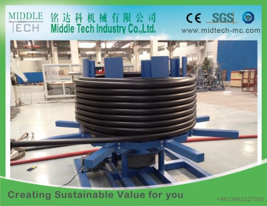 China Wholesale Price for Plastic HDPE&PE Single Dual Pipe/Tube/Hose Machine Extruder Supplier