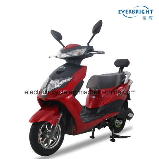 Ce Approved Adult Brushless Geared Motor 2 Wheel Electric Scooter with Lithium Battery