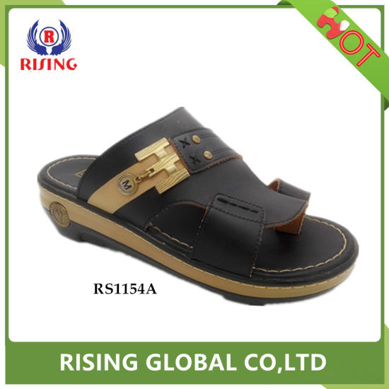 2a78ea6d72b China Top Sell Thick Sole Mens Arabic Slippers Sandals Custom Color ...