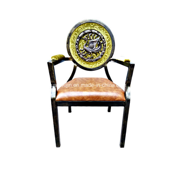Stackable Hotel Restaurant Banquet Armrest Dining Chairs Wholesale (JY-F54)