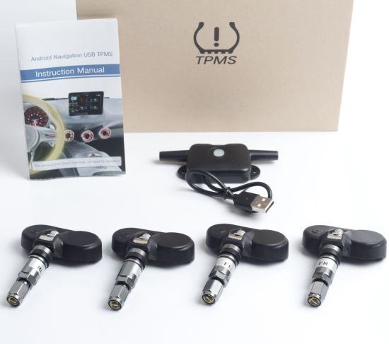 China TPMS Auto Car Wireless Tire Pressure Monitoring System with 4