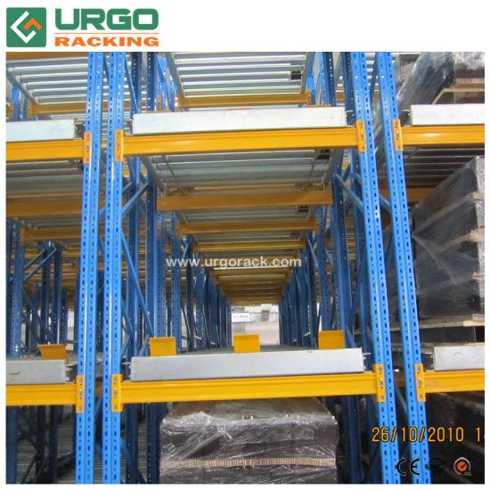 Urgo Pallet Flow Rack Roller Pallet Racking for Intensive Storage