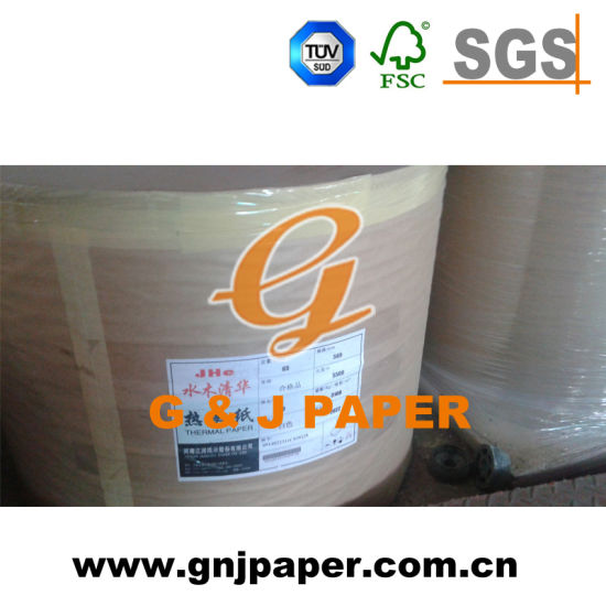 Thermal Paper in Jumbo Rolls for Supermarket/Bank Cash Receipt Supply pictures & photos