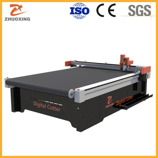 China Supplier Thick PVC Board Digital Milling Knife Cutting Machine