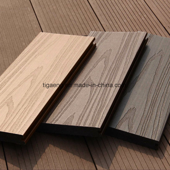China Solid Wood Plastic Composite Decking Flooring Outdoor Wpc